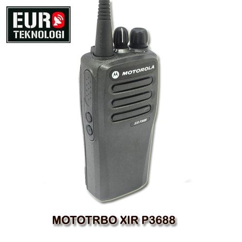 HT MOTOTRBO XIR P3688