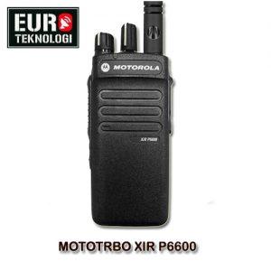 HT MOTOTRBO XiR P6600