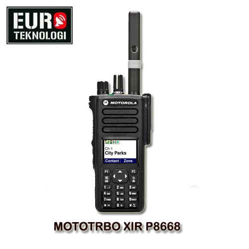 HT MOTOTRBO XIR P8668